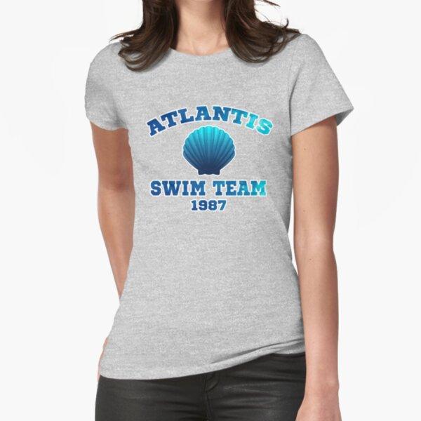 Atlantis Swim Team Fitted T-Shirt