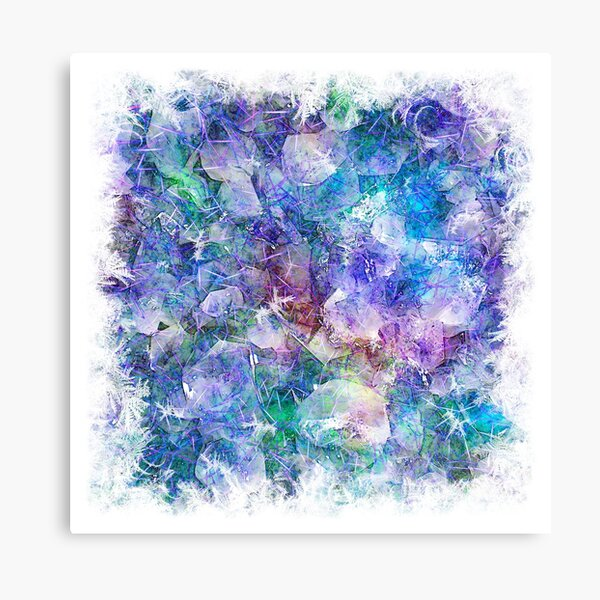 Crystal Frost 1 Canvas Print