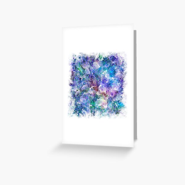 Crystal Frost 1 Greeting Card
