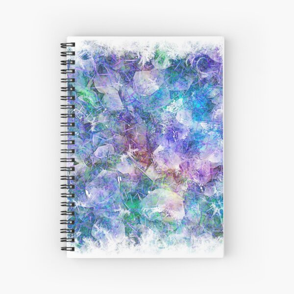 Crystal Frost 1 Spiral Notebook