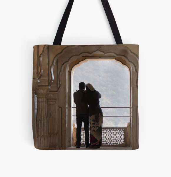 Lovely India All Over Print Tote Bag