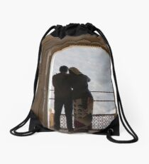 Lovely India Drawstring Bag