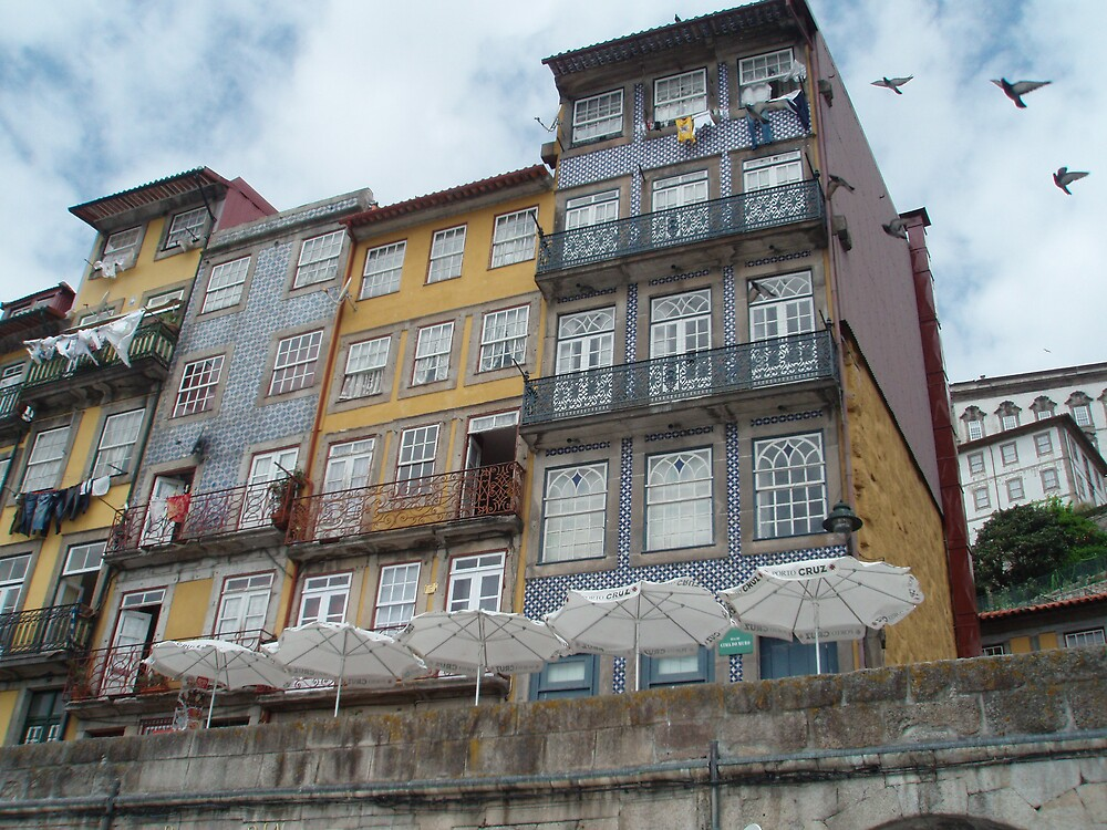 Porto - Ribeira, view from River Duoro by presbi