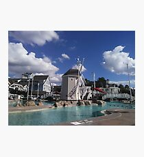 Yacht Club Relaxing Photographic Print