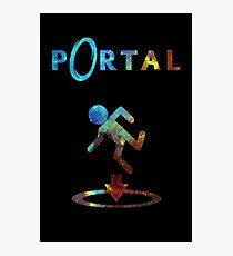 Portal Minimalist Nebula Design Photographic Print