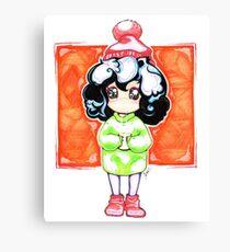 Cozy Fluff (A Tina G. Original) Canvas Print