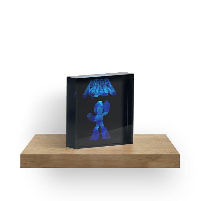 «Diseño de Nebulosa Minimalista de Megaman» de Zilby