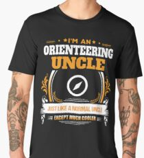 Orienteering Uncle Christmas Gift or Birthday Present Men's Premium T-Shirt