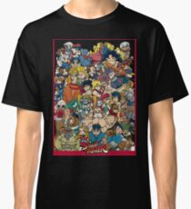 Premium Street Fighter Characters T-Shirt Classic T-Shirt