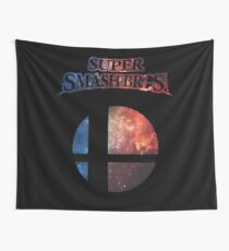 Smash bros Minimalist Nebula Design Wall Tapestry