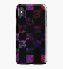 Purple-ish cubes iPhone Case/Skin