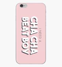Cha Cha Beat Boy iPhone Case