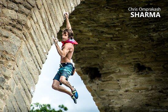 Chris Sharma by OnBouldering