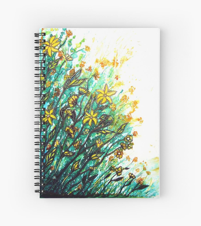 Summer Breeze - Flowers by Linda Callaghan