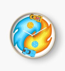 Rocket League Yin Yang Clock