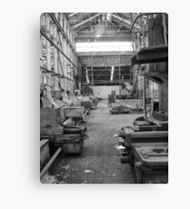 Factory Machinery Canvas Print