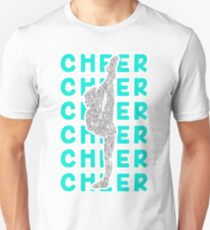 CHEER STUNT SCORPION GLITTER SILVER T-Shirt