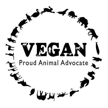 Vegan, Proud Animal Advocate by HomicidalHugz