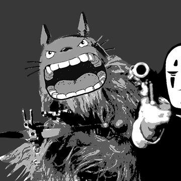 Ghibli in Space by tduffy