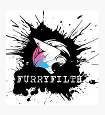 FurryFilth Logo Photographic Print