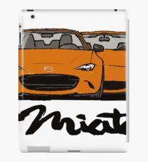 MX5 Miata Generations Orange T-Shirt iPad Case/Skin