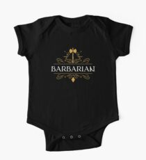 Barbarian Barbarians DPS Dungeons and Dragons Inspired D&D DnD Kids Clothes