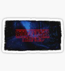Stranger Things Series Art Sticker