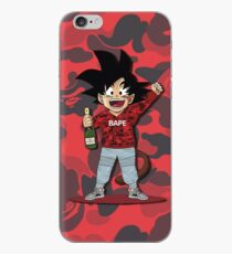 goku red iPhone Case