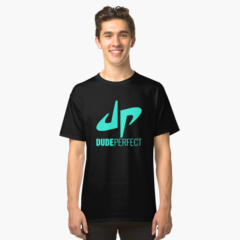 Dude Perfect Logo Classic T-Shirt Front