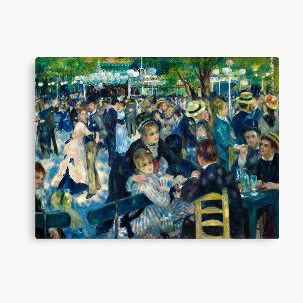 Pierre-Auguste Renoir Dance at le Moulin de la Galette  Canvas Print