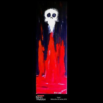 Skull by KevWeldon