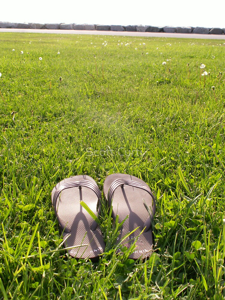 lonely sandals by Scott Curti