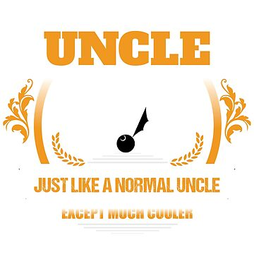 Ping Pong Uncle Christmas Gift or Birthday Present by epicshirts