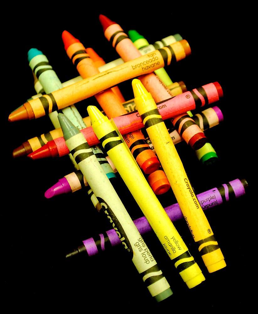 Crayons #5 by Martin Kirkwood (photos)