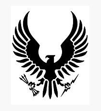 Halo Spartan Logo Photographic Print