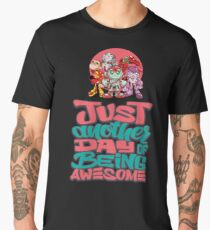 """Robobot """"Off to Mars"""" / Robobot Team / Just Another Day of Awesome Men's Premium T-Shirt"""