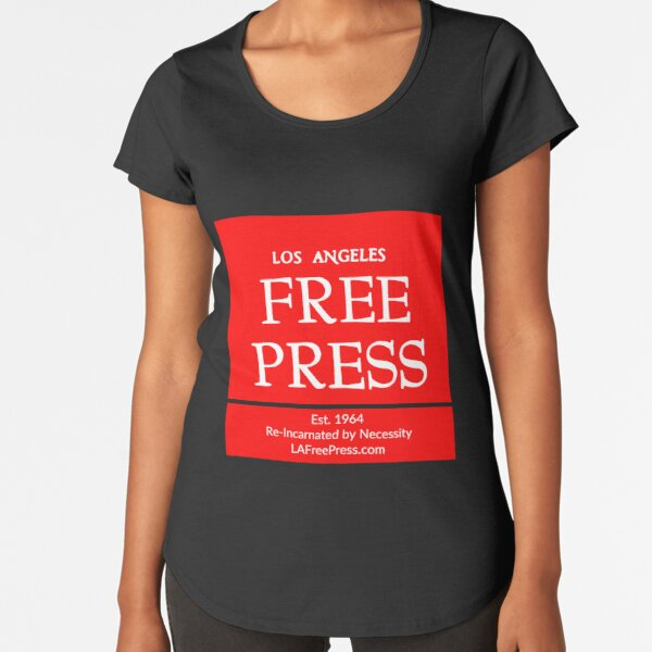 Los Angeles Free Press T-shirt Premium Scoop T-Shirt