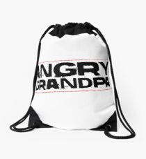 Angry Grandpa Show - YouTube Drawstring Bag