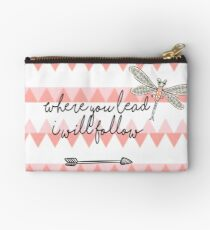 Gilmore Girls- Where you lead I will follow Studio Pouch