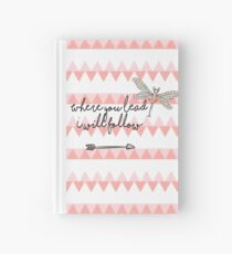 Gilmore Girls- Where you lead I will follow Hardcover Journal