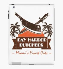 dEXTER- bAY hARBOuR BUTCHER iPad Case/Skin