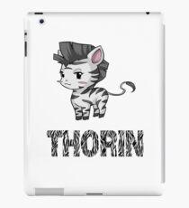 Zebra Thorin iPad Case/Skin