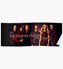 The vampire diaries-the originals Poster