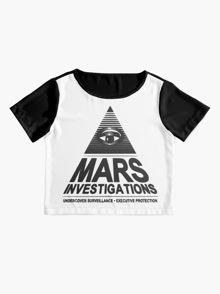 Alternative Ansicht von Mars-Untersuchung Chiffon Top