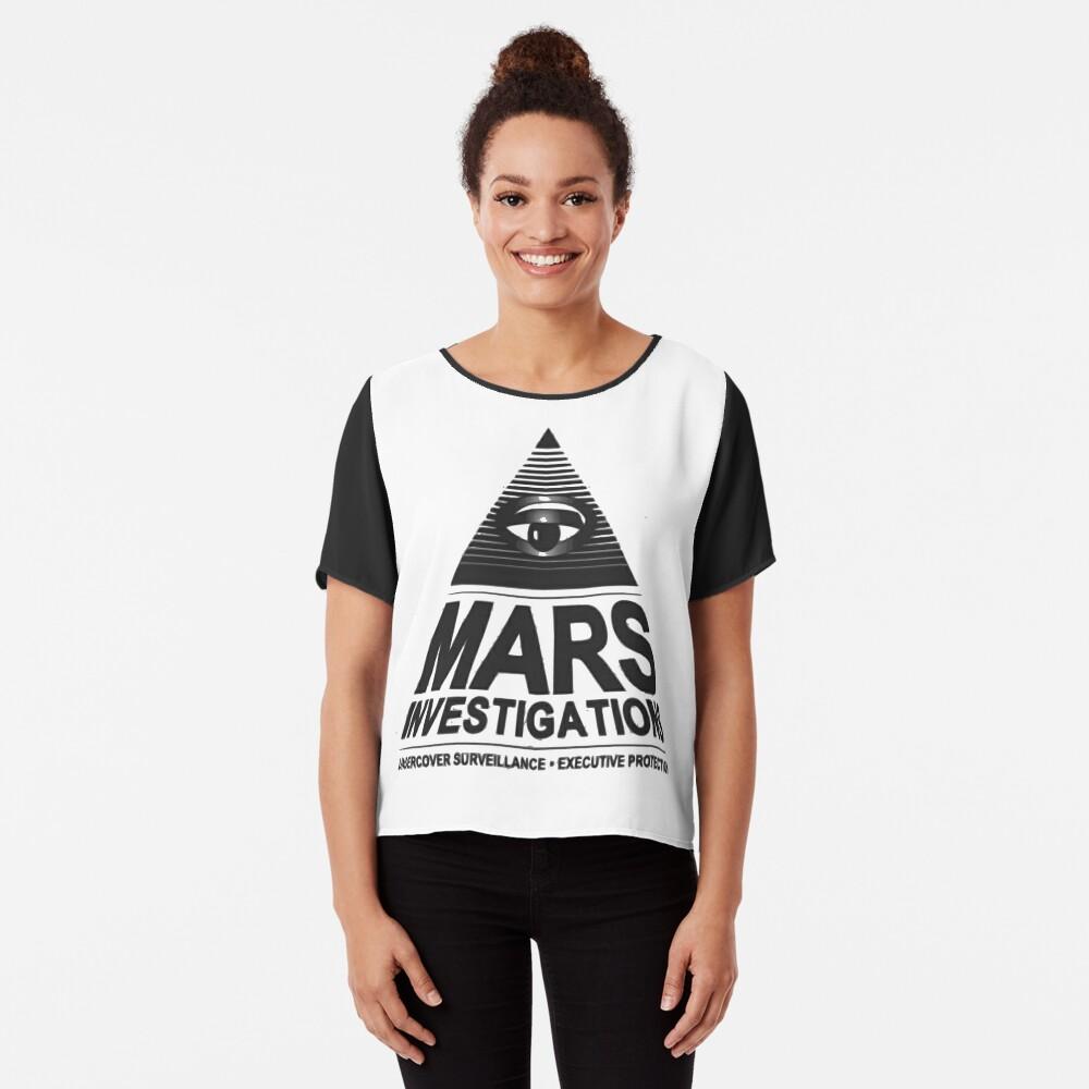 Mars-Untersuchung Chiffon Top