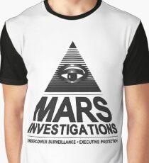 Mars investigation Graphic T-Shirt