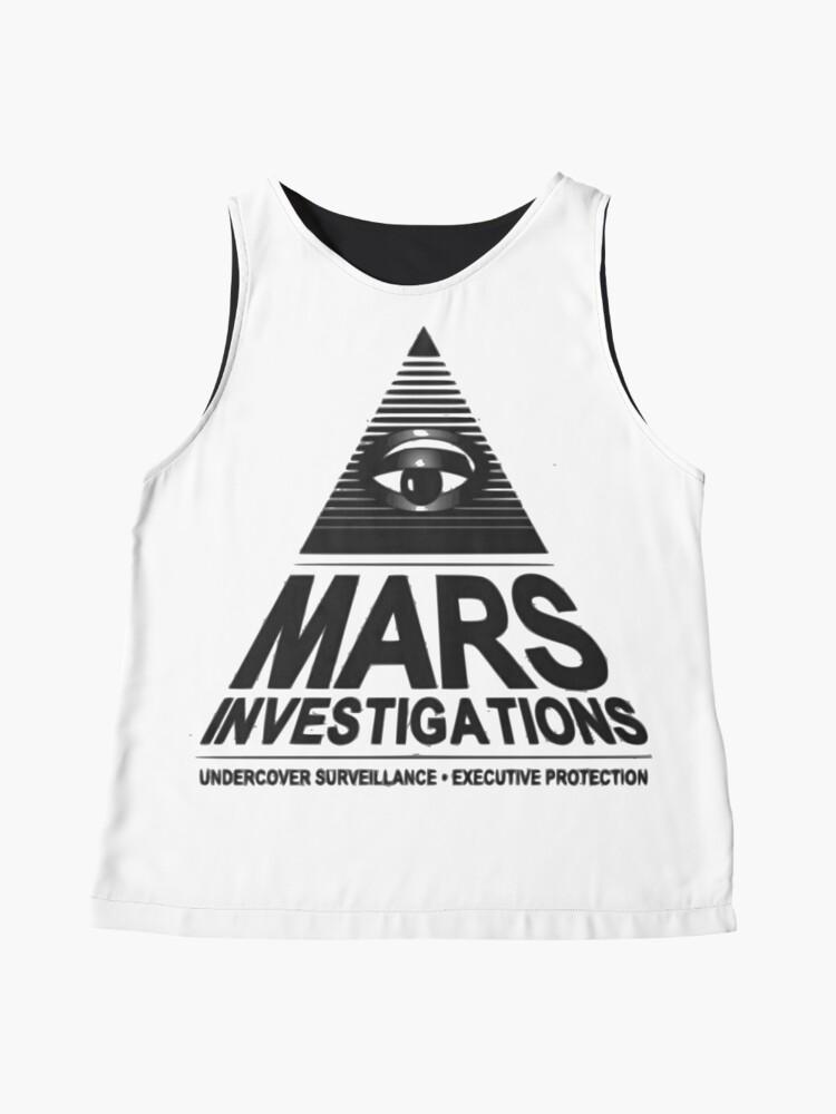 Alternative Ansicht von Mars-Untersuchung Ärmelloses Top