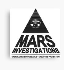 Mars investigation Canvas Print