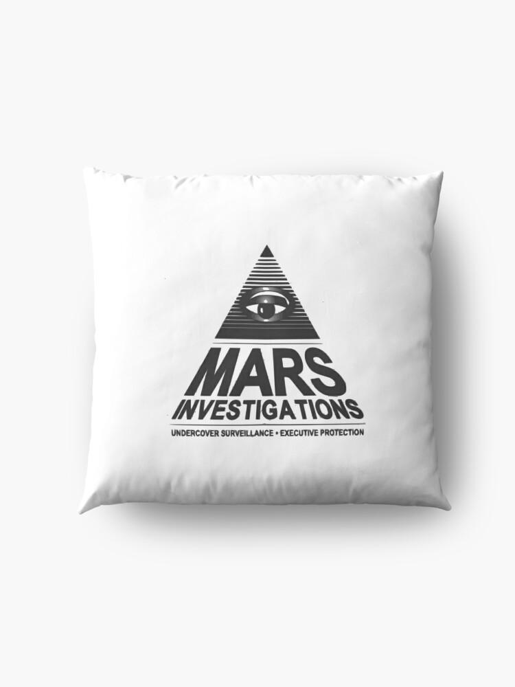 Alternative Ansicht von Mars-Untersuchung Bodenkissen