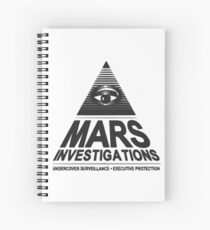 Mars investigation Spiral Notebook